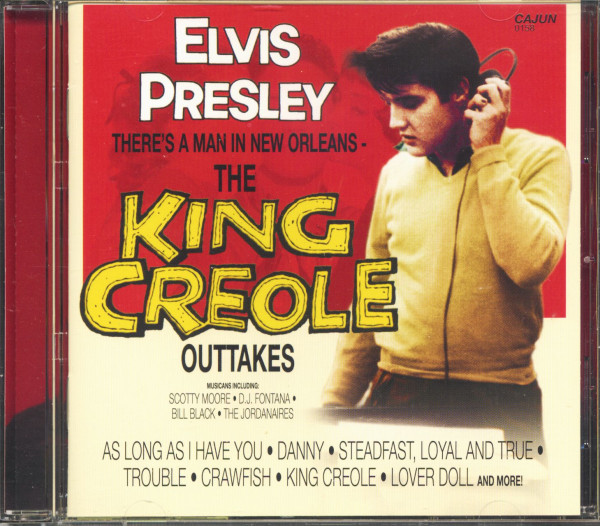 There's A Man In New Orleans - The King Creole Outtakes (CD)