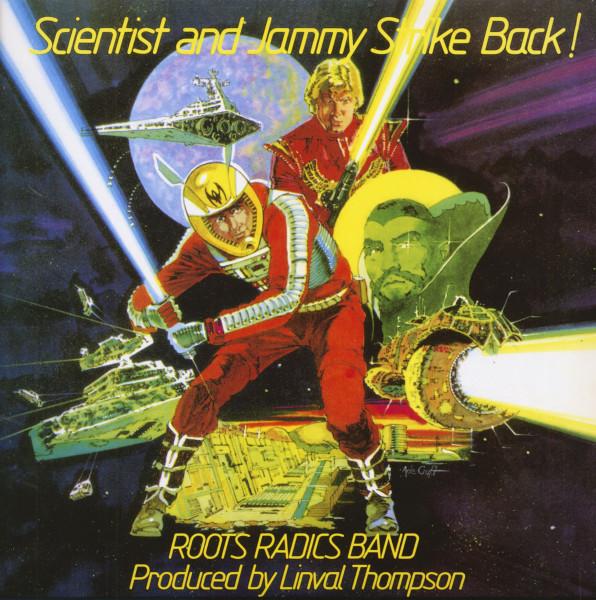 Scientist And Jammy Strike Back! (LP, Yellow-Grey Lightsaber Vinyl, Ltd.)