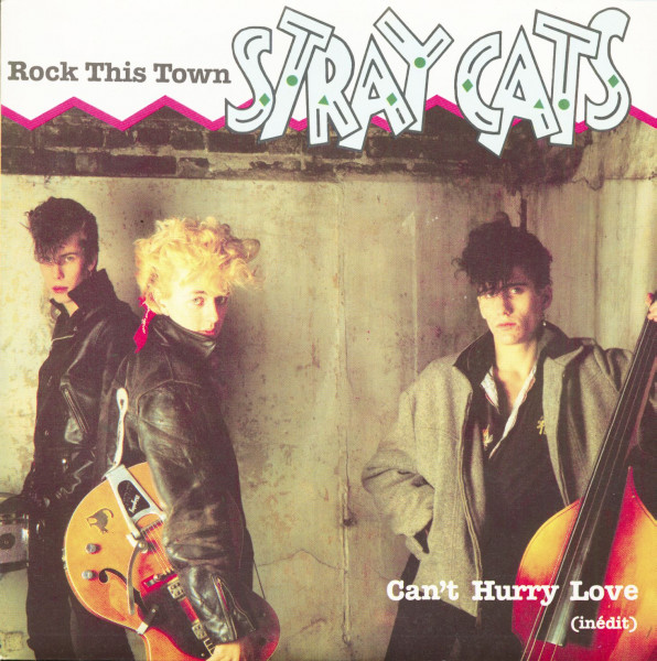 Rock This Town - Can't Hurry Love (7inch, 45rpm, PS)