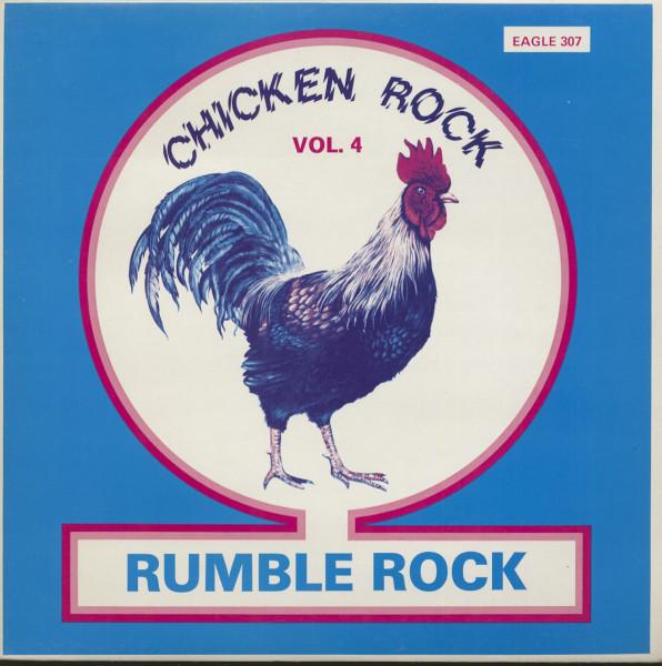 Chicken Rock Vol.4 - Rumble Rock (LP)
