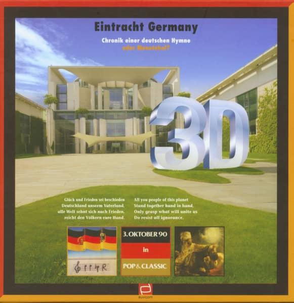 Eintracht Germany - Chronik einer deutschen Hymne (Buch & 2-CD, 1 LP)