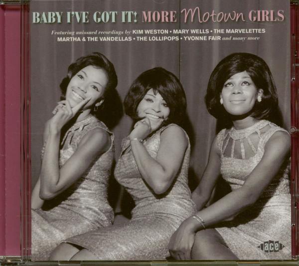 Baby I've Got It!: More Motown Girls (CD)