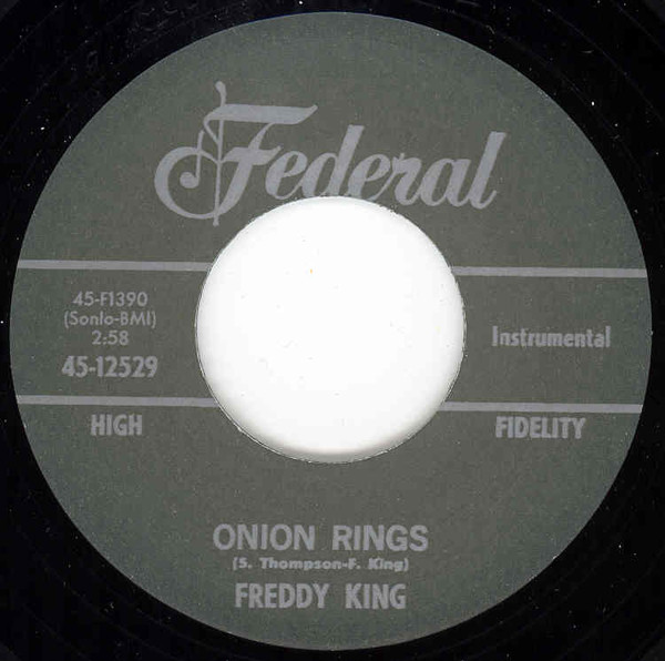 Onion Rings - Now I've Got A Woman 7inch, 45rpm