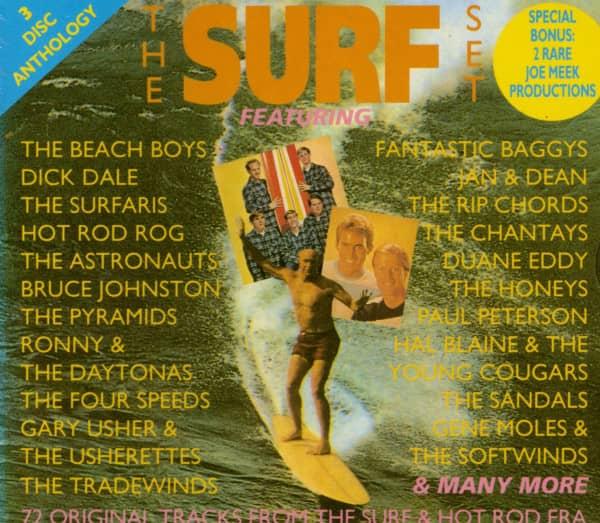 The Surf Set (3-CD)