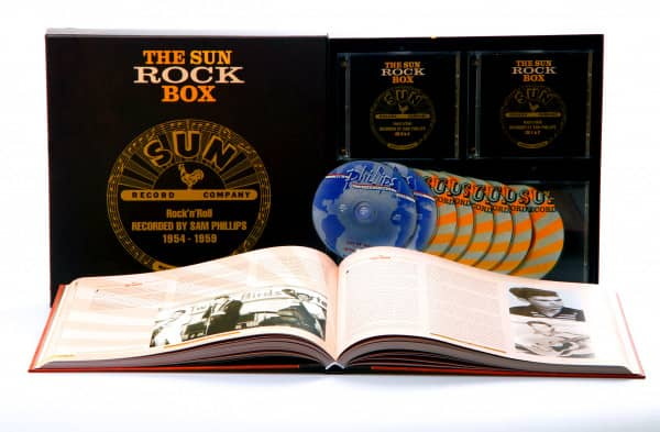 Sun Rock Box 1950-1959 (8-CD Deluxe Box Set)