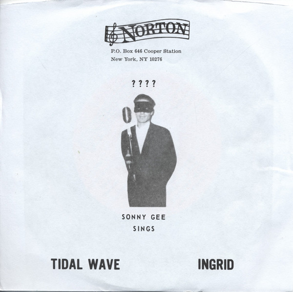 Tidal Wave - Ingrid (7inch, 45rpm, PS, Green Vinyl)