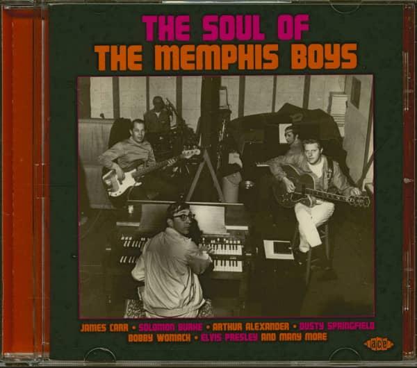 The Soul Of The Memphis Boys (CD)