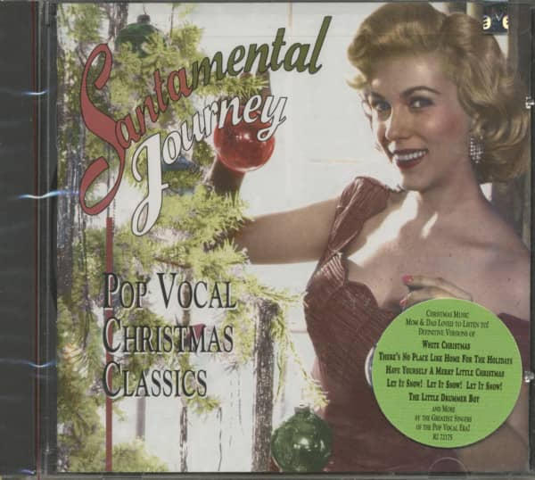 Santamental Journey - Pop Vocal Christmas Classics (CD)