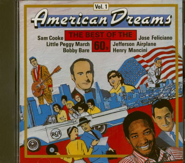 American Dreams - The Best Of The 60s Vol.1 (CD)
