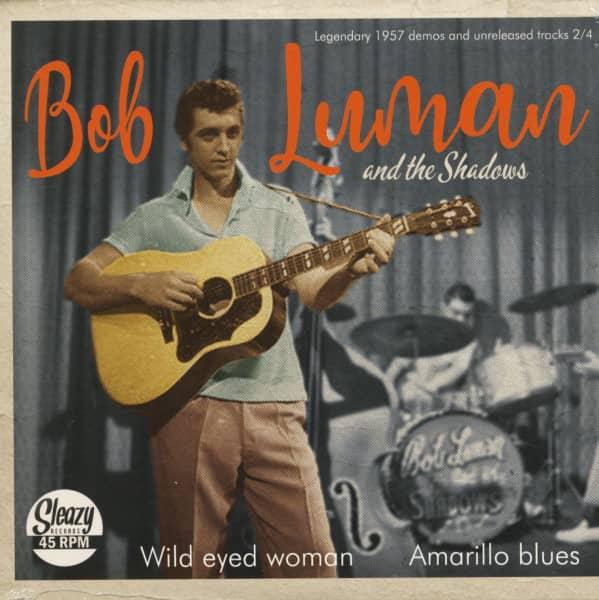 Wild Eyed Woman - Amarillo Blues (7inch, 45rpm)