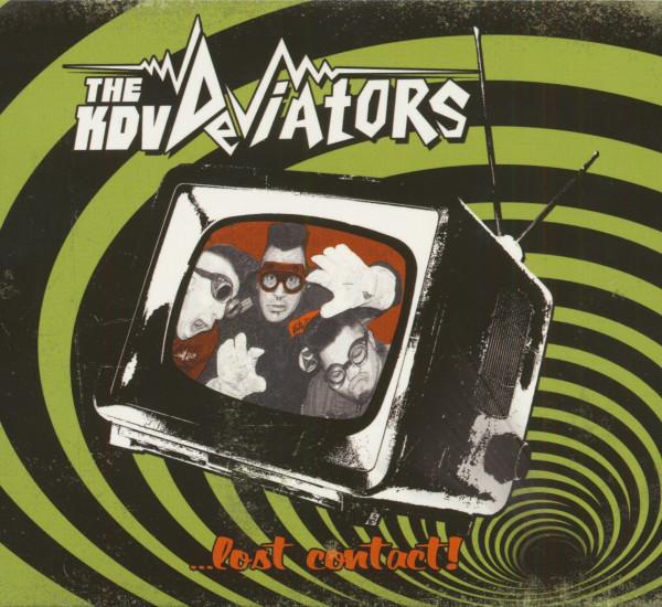 The KDV Deviators...Lost Contact! (CD)