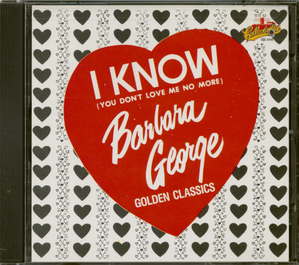 I Know - You Don't Love Me No More (CD. Cut-Out)