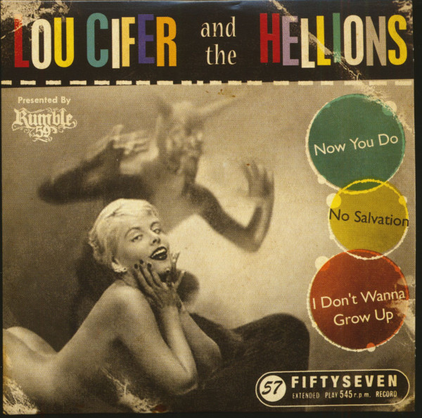 Lou Cifer And The Hellions Presented By Rumble 59 (CD, EP)