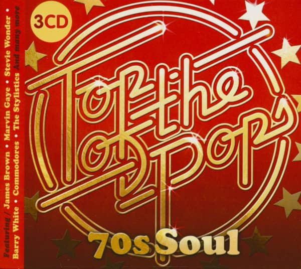 Top Of The Pops - 70s Soul (3-CD)