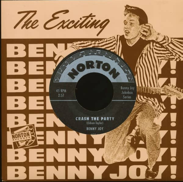 Crash The Party - Rollin' To The Jukebox Rock (7inch, 45rpm)