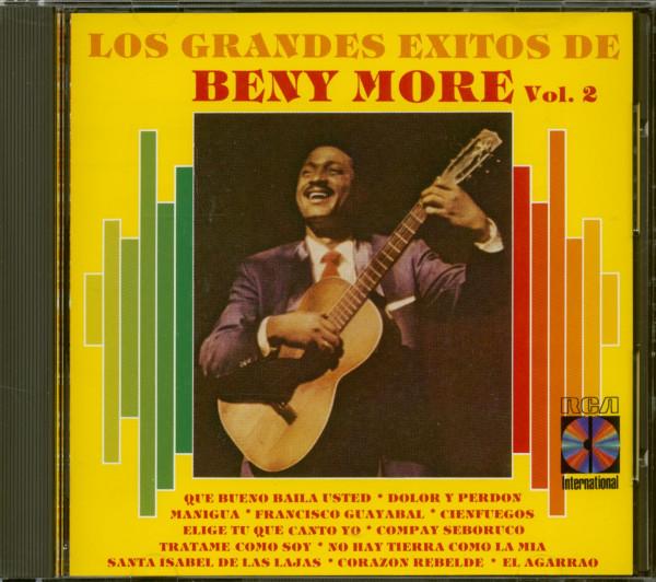 Los Grandes Exitos De Beny More Vol. 2 (CD)