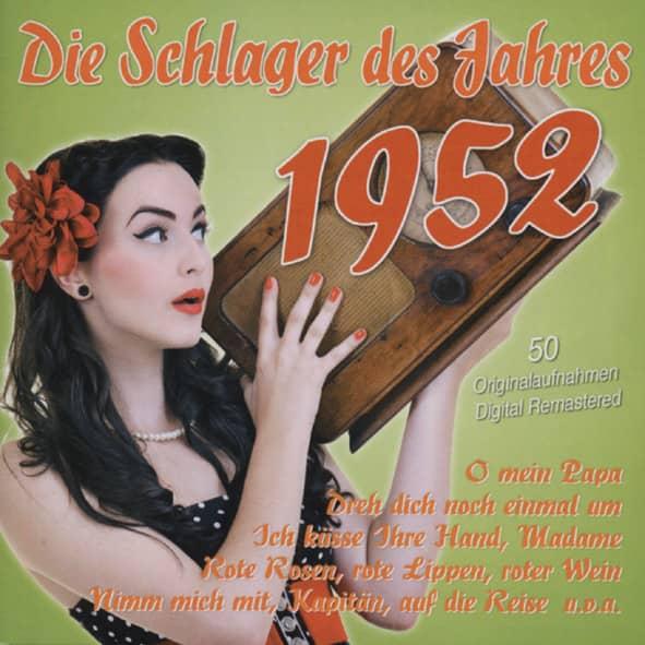 Die Schlager des Jahres 1952 (2-CD)