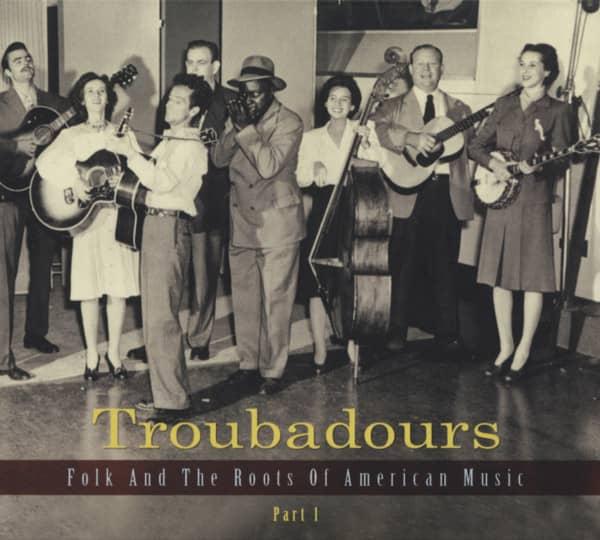 Teil 1, Folk und die Wurzeln amerikanischer Musik (3-CD)