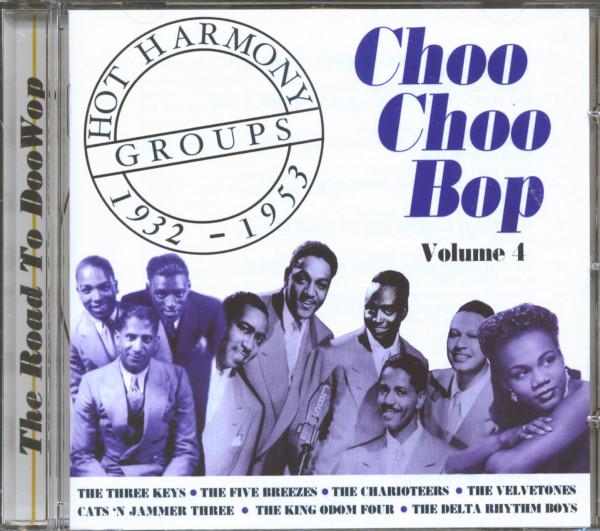 Hot Harmony Groups Vol.4 - Choo Choo Bop (CD)