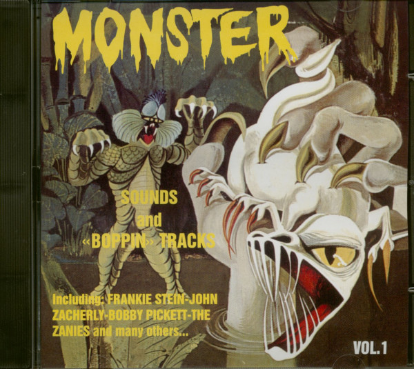 Monster Sounds And Boppin Tracks Vol.1 (CD)