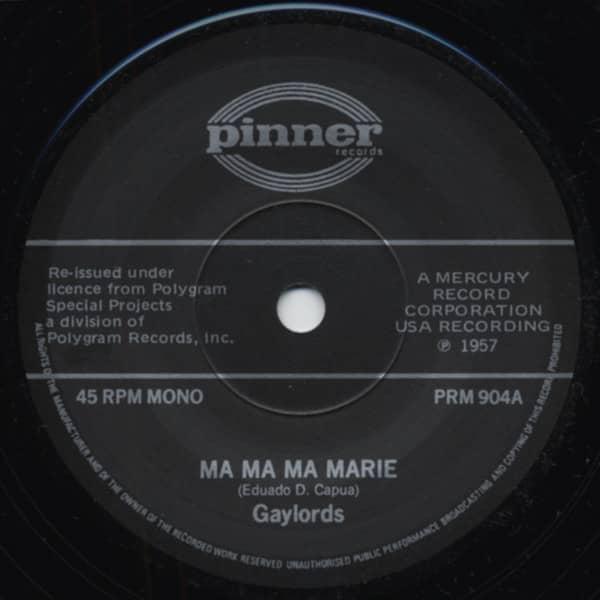 Ma Ma Ma Marie - Bark Battle And Ball (7inch, 45rpm, SC)