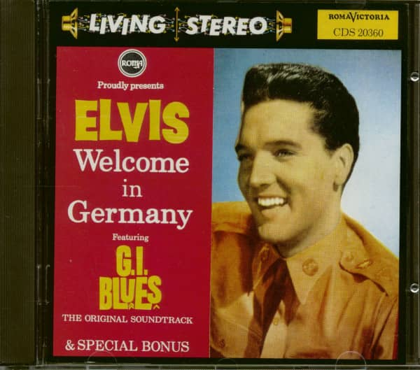 Welcome In Germany (CD, First Pressing)