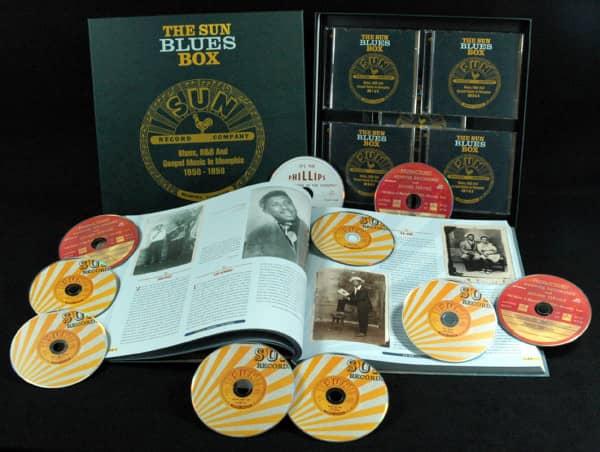 Sun Blues Box 1950-1958 (10-CD Deluxe Box Set)