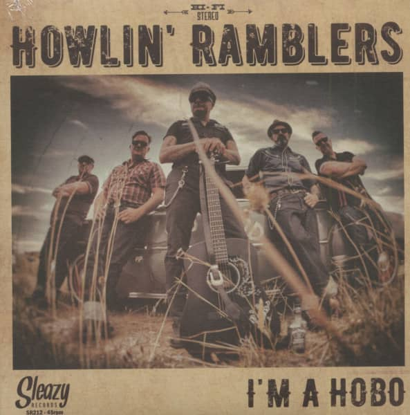 I'm A Hobo (7inch, 45rpm, EP, PS, Ltd.)
