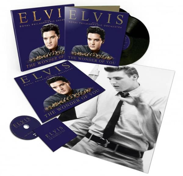 The Wonder Of You (2-LP/1-CD/Book)