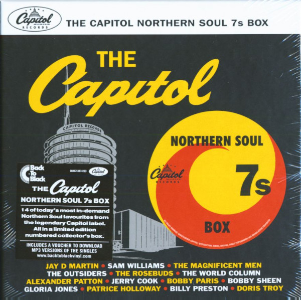 The Capitol Northern Soul 7s Box (7x45rpm Box Set, 7inch, SC)