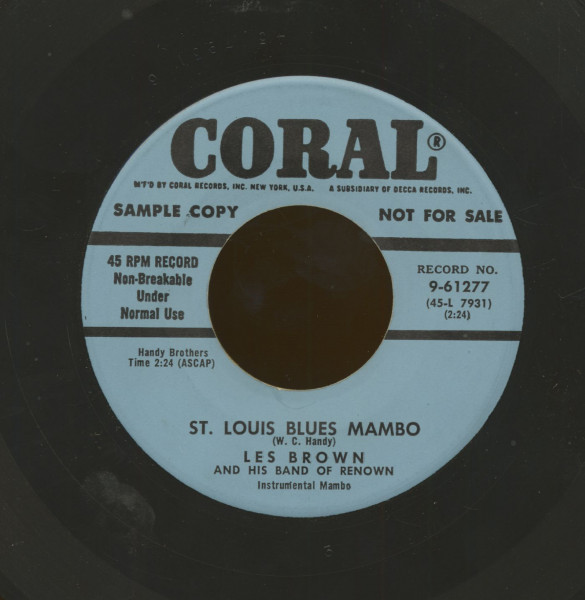 St. Louis Blues Mambo - Doodle-Doo-Doo (7inch, 45rpm)