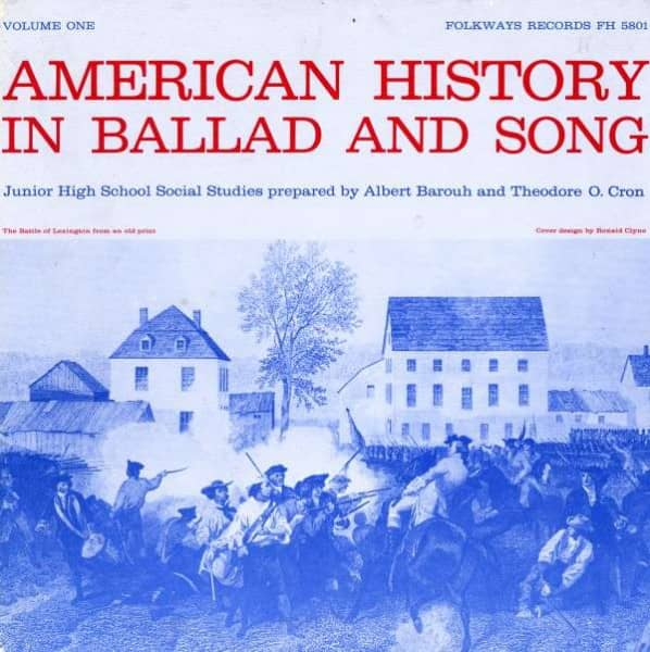 American History in Ballad and Song, Vol.1 (3-CD)