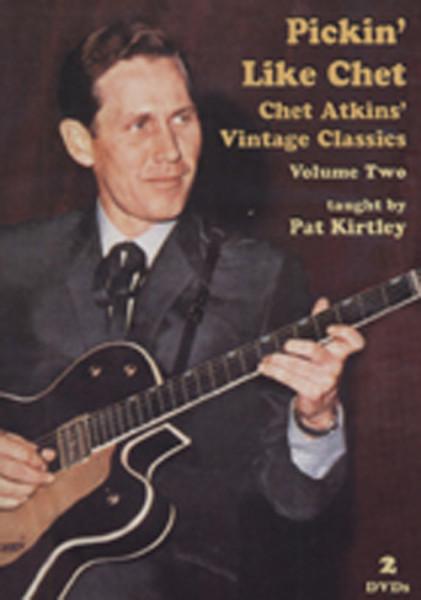 Vol.2, Pickin' Like Chet (by Pat Kirtley)2-DV