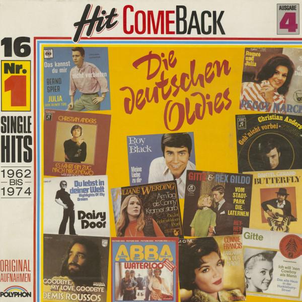 Hit Come Back - Die deutschen Oldies - 4. Ausgabe 1962 bis 1974 (LP)