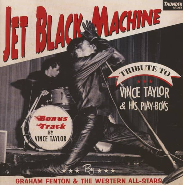 Jet Black Machine - A Tribute To Vince Taylor (7inch, 45rpm, EP, PS)
