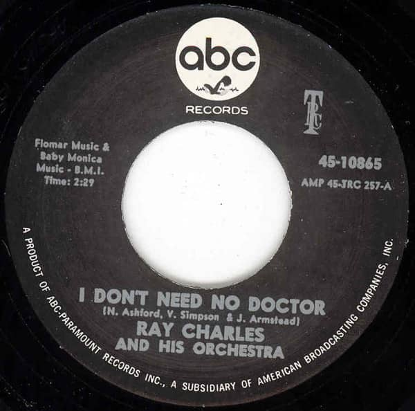 I Don't Need No Doctor - Please Say You're Fooling (7inch, 45rpm)