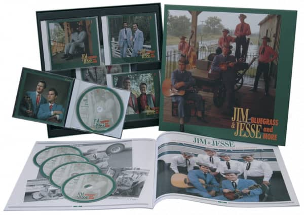 Bluegrass And More (5-CD Deluxe Box Set)