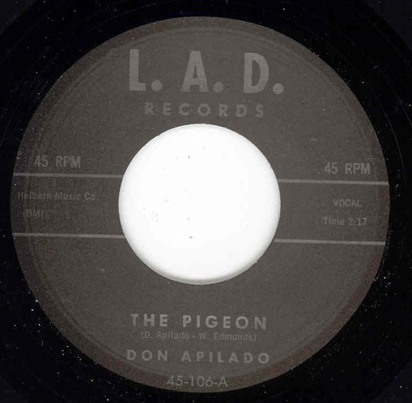 The Pigeon - Forget Me Not 7inch, 45rpm