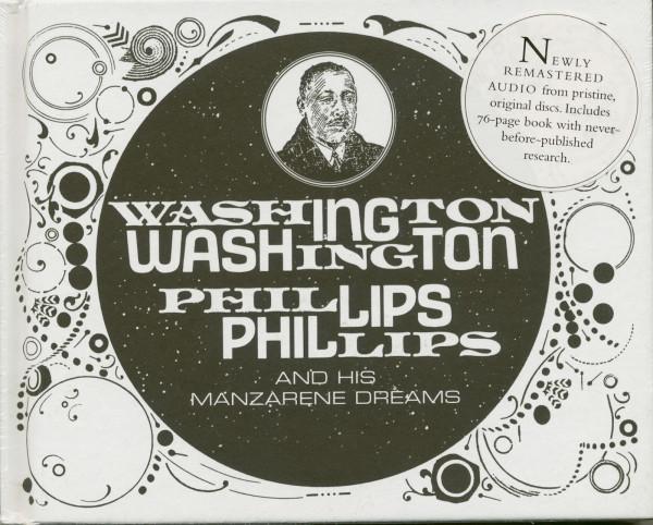 Washington Phillips & His Manzarene Dreams (CD, Book)