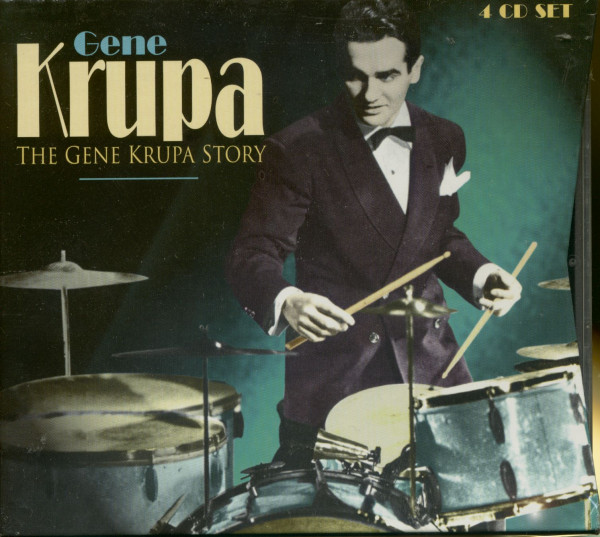 The Gene Krupa Story (4-CD)