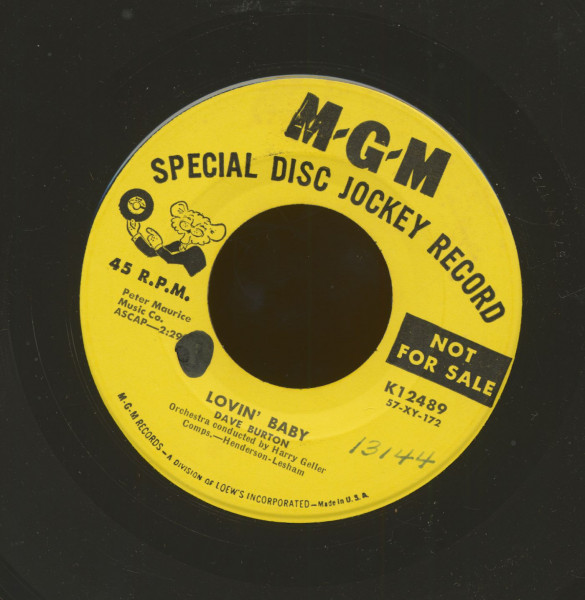 Lovin' Baby - Butterfingers (I Let You Go) (7inch, 45rpm)