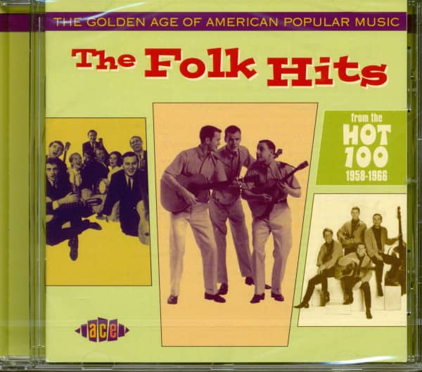 Golden Age Of American Popular Music - The Folk Hits (CD)