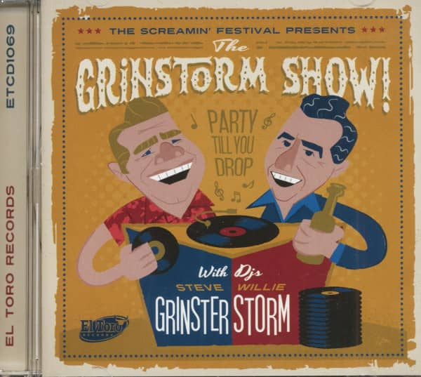 The Grinstorm Show! - The Screamin' Festival Presents (CD)