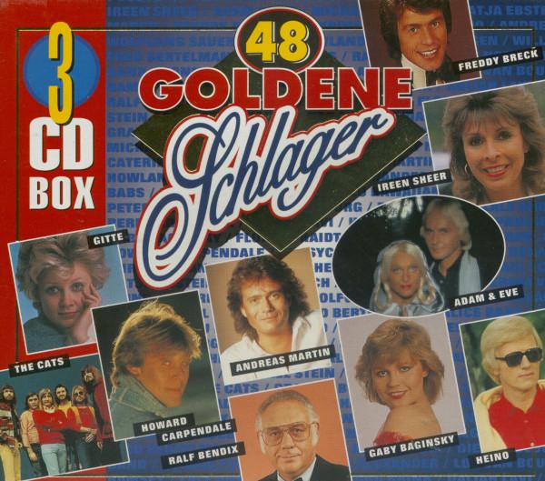 48 Goldene Schlager (3-CD)