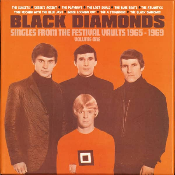 Black Diamonds, Vol.1 - Singles From The Festival Vaults 1965-1969, 10x7inch