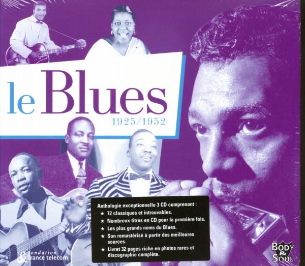 Le Blues 1925-1952 3-CD
