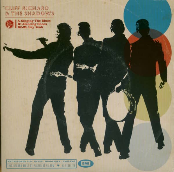 Singing The Blues (7inch, 45rpm, EP, PS, SC)