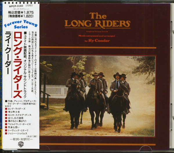 The Long Riders - Original Motion Picture Soundtrack (CD, Japan)