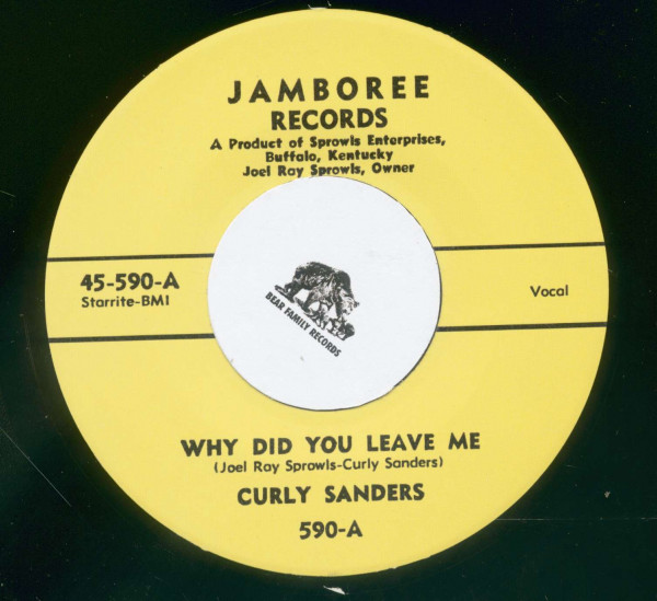 Brand New Rock And Roll - Why Did You Leave Me (7inch, 45rpm)