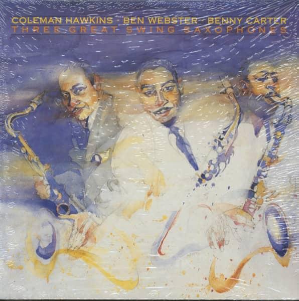 Three Great Swing Saxophones (LP)